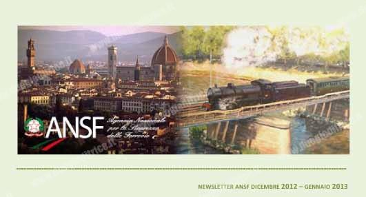 ANSF: prima newsletter 2013