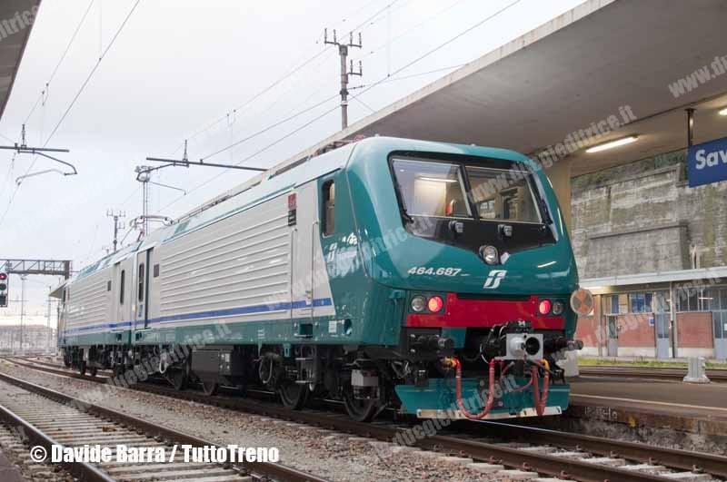 Trenitalia: altre 29 E 464 e 150 carrozze Vivalto
