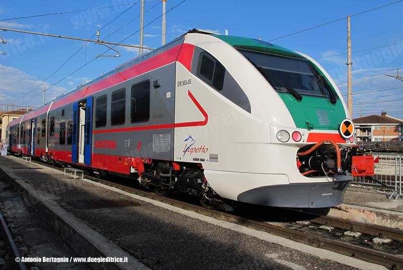 Sangritana: bilancio tecnico 2016 del settore ferroviario