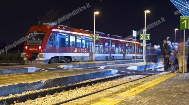 Treni FSE per la Focàra di Novoli