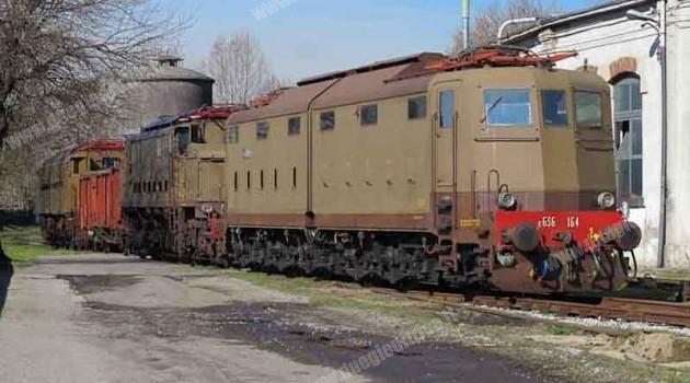 Treni storici a Milano Smistamento