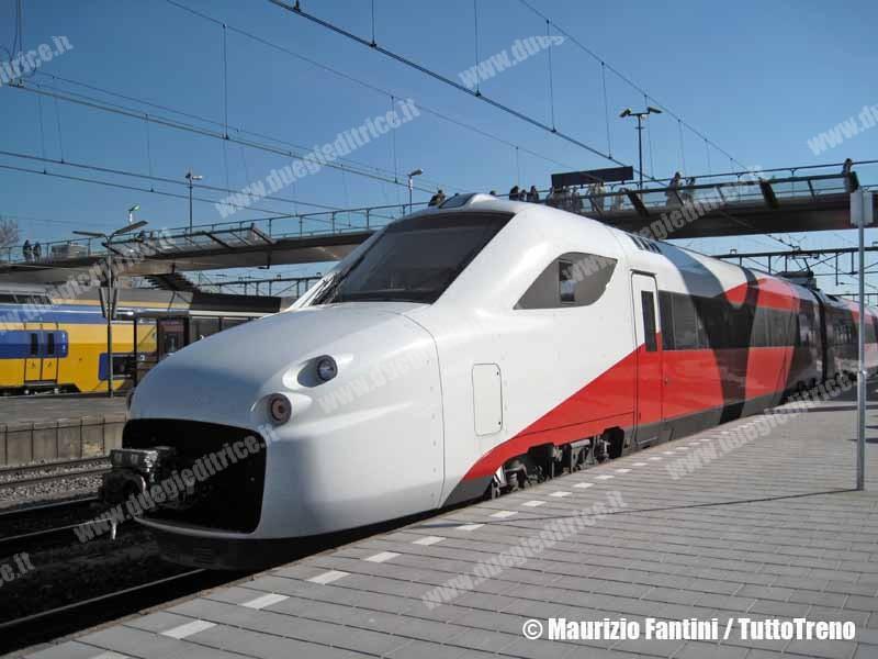 Le Ferrovie Olandesi, AnsaldoBreda e Finmeccanica chiudono la controversia relativa ai treni V250