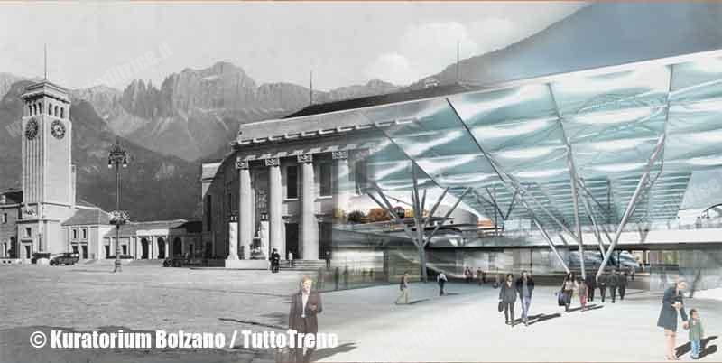 L'era del treno a Bolzano