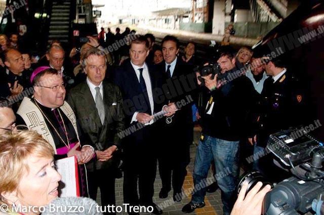 Italo, Cattaneo e Montezemolo tornano al vertice