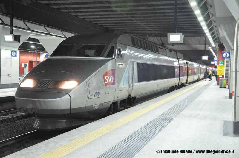 SVI: ripartono da domani i servizi TGV Francia–Italia