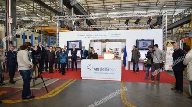 AnsaldoBreda: in mostra lo stabilimento di Pistoia