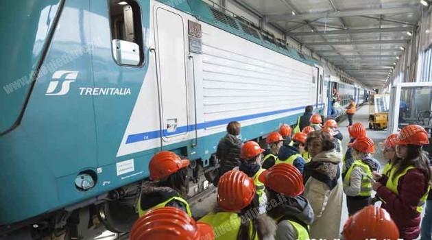 Trenitalia: l'iniziativa Fabbriche Aperte fa tappa in stazione a Savona