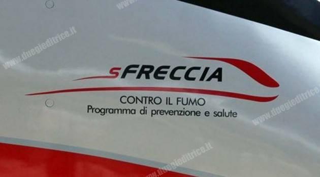 FS Italiane e le Frecce Trenitalia per sFRECCIA CONTRO IL FUMO.