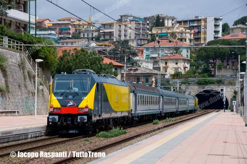 Ferrotranviaria-E483_040+041-CorsaProvaSavonaParcoDoriaGenovaSestriPonenteAeroporto-CelleLigure-2013-05-02-JacopoRaspanti-DSC_0062-wwwduegieditriceit-WEB