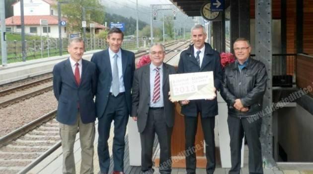 """Stazione di Villabassa: """"Stazione ferroviaria dell'anno 2013″"""