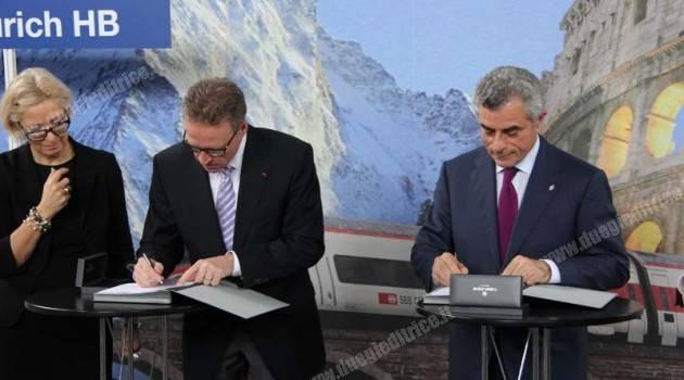 FFS e Trenitalia rafforzano il traffico Italia – Svizzera