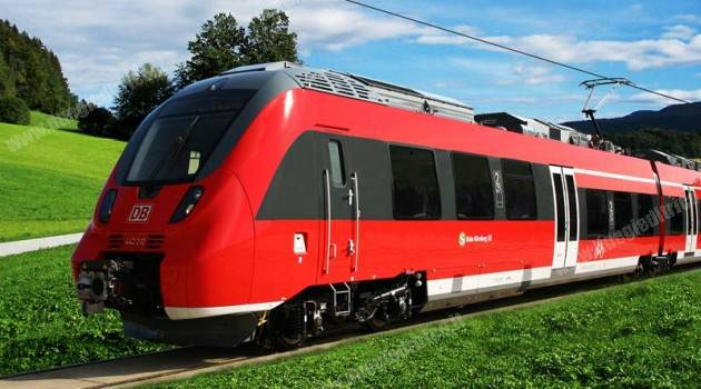 35 CONVOGLI TALENT 2 BOMBARDIER PER National Express Rail GmbH