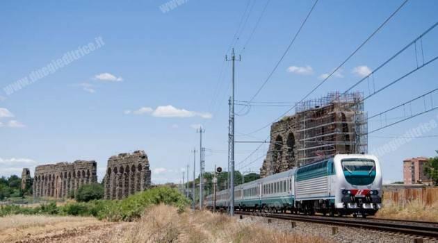 Treni tra nord e sud deviati via Cassino