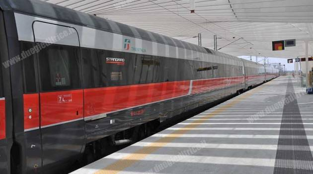 I convogli Trenitalia a Reggio Emilia AV
