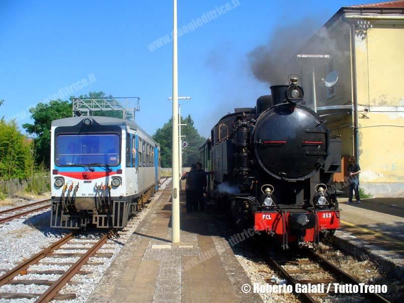 Ferrovie della Calabria a tutto vapore