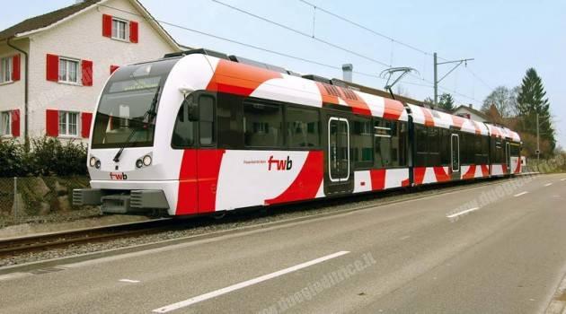 Ferrovia Frauenfeld-Wil: l'ABe 4/8 in servizio