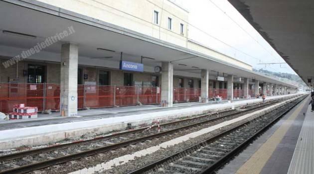 Ancona: al termine la sopraelevazione dei marciapiedi dedicati all'AV
