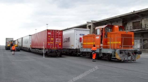 Millesimo treno intermodale operato da RTC nel porto di Trieste