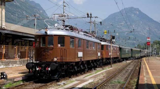 15 luglio 1913: arrivo del primo treno della Lötschbergbahn a Domodossola