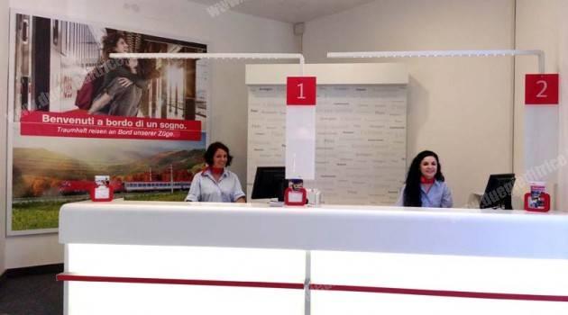 DB–ÖBB: nuova biglietteria a Bolzano