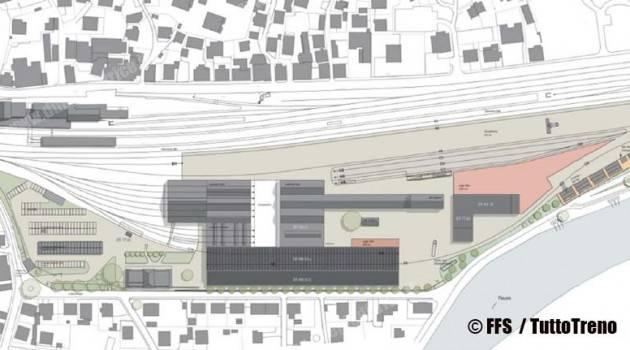 Gottardo: centro di manutenzione e intervento di Erstfeld