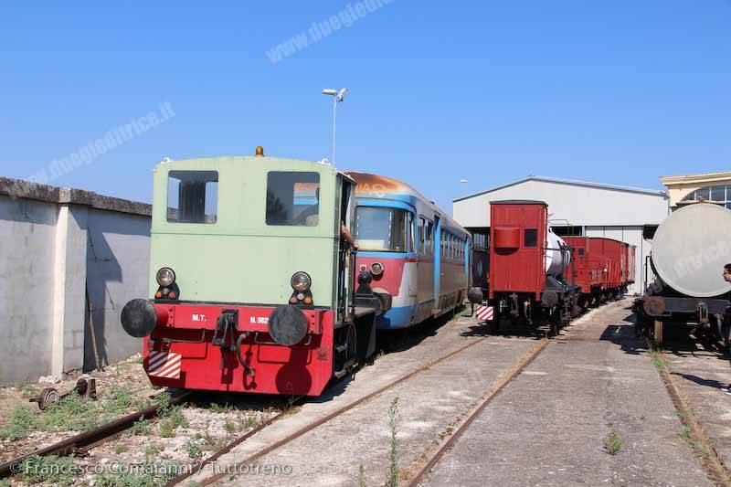 Ad 72 Breda FSE al Museo Ferroviario di Lecce