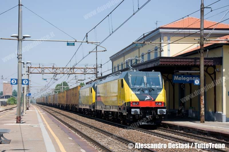 Ferrotramviaria-E483_040+E483_041FT-TrenoTCS51085MilanoSmistamentoFalconara-Melegnano-MI-2013-06-30-DestasiAlessandro-1-wwwduegieditriceit-WEB