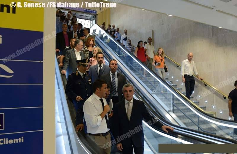 RFI-VisitaMatteoRenzi-StazioneFirenzeSMN-2013-07-30-Senese-FSI-wwwduegieditriceit_2494