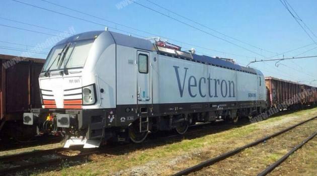 La prima vectron è giunta in Italia!!!