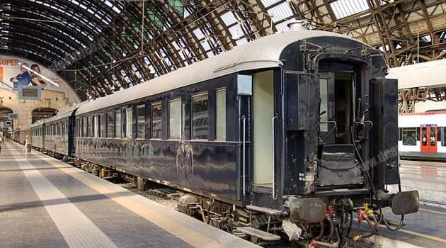 Treno Presidenziale a Milano