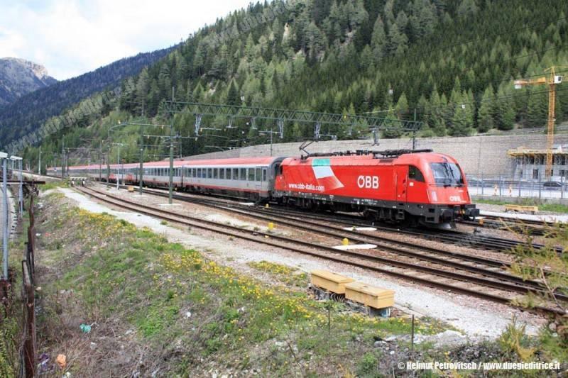 Ferrovia del Brennero, 150 anni fa i primi treni