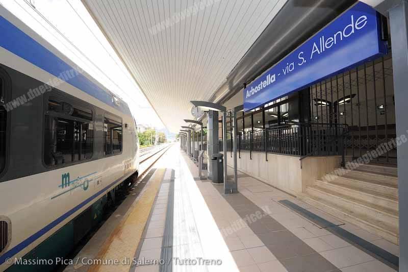 Salerno: riparte il servizio sulla metropolitana di superficie