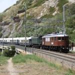Swisstrain_Ae6_8_208_e_Ae4_7_10997_EXT31027BernBrig_Lalden_100anniLotschberg_2013_09_07_PerissinottoFabien_wwwduegitriceit