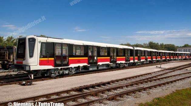 Treni Siemens sulla Metro di Varsavia