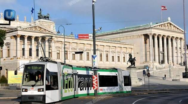 EcoTram Siemens in prova a Vienna