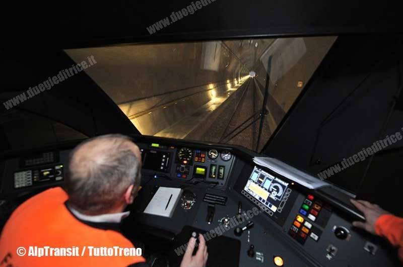Galleria del San Gottardo: vincete posti esclusivi sui treni d'inaugurazione