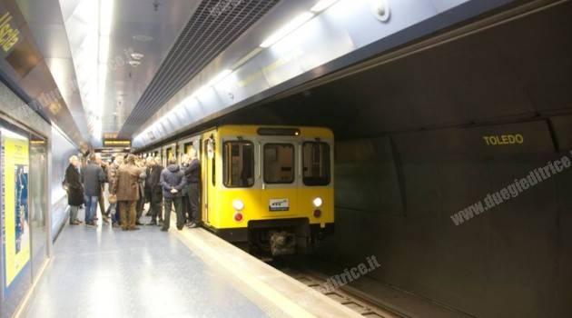 """MetroNapoli: inaugurata la stazione """"Garibaldi"""" della linea 1"""