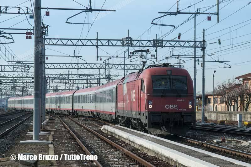 EC DB-ÖBB: fatturato + 11% e oltre 1 milione di passeggeri