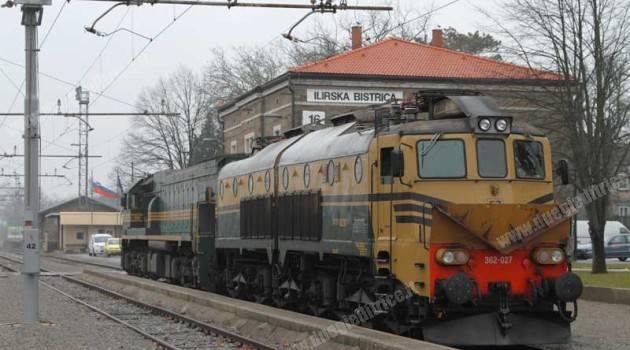 SŽ 362 027 a Ilirska Bistrica