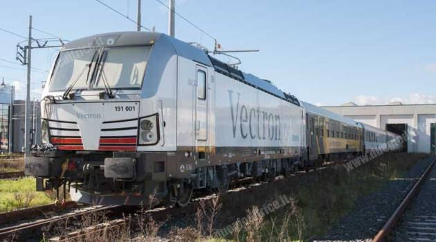 E 191 001 Vectron Siemens in prova