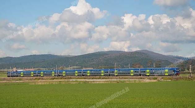 Trenitalia: nuova livrea per i treni regionali