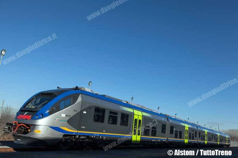 Alstom consegna a Trenitalia Jazz, il nuovo treno per il trasporto regionale