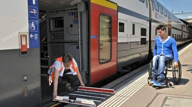FFS: soddisfazione per i servizi 2013 dei viaggiatori disabili