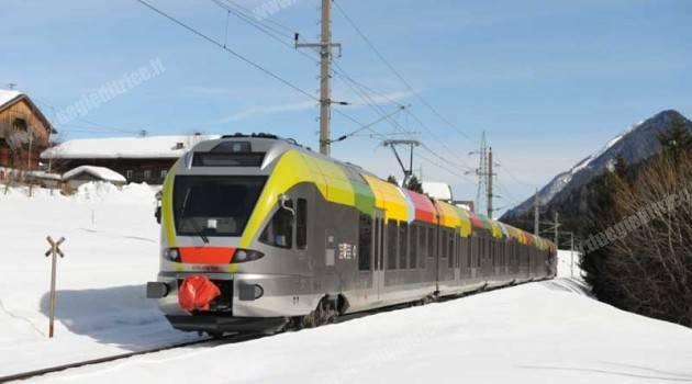 SAD: corse di prova dei treni Flirt fra San Candido e Sillian