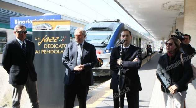 Trenitalia: consegnato il primo ETR 425 nelle Marche