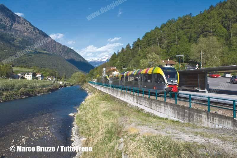 Riaperta la ferrovia della Val Venosta