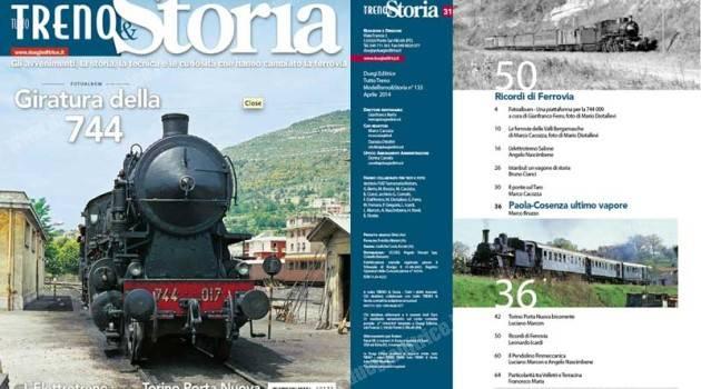 E' uscito TuttoTreno & Storia n° 31