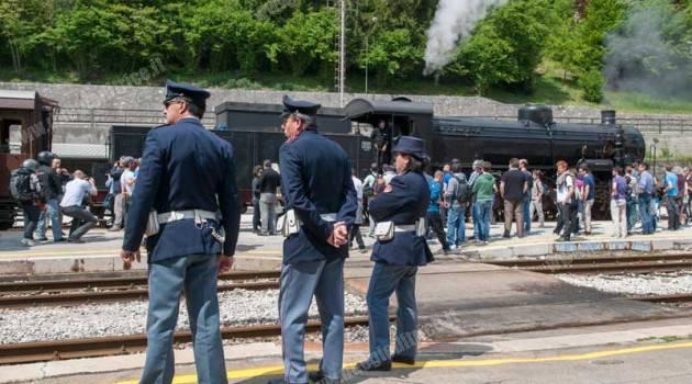 Polizie ferroviarie d'Europa a Firenze