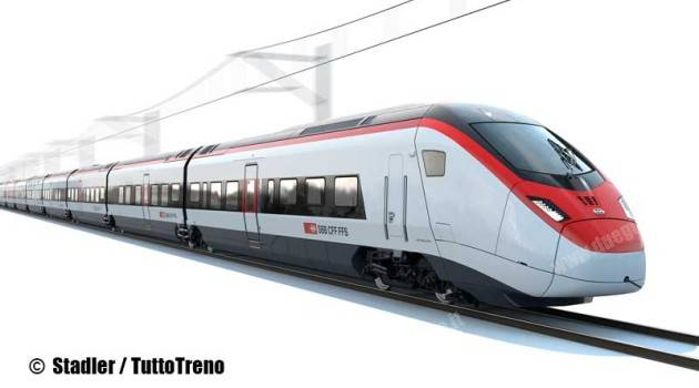Le FFS ordinano 29 nuovi treni a Stadler Rail