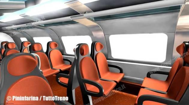 TSR: di Pininfarina gli interni del nuovo TSR per Trenord